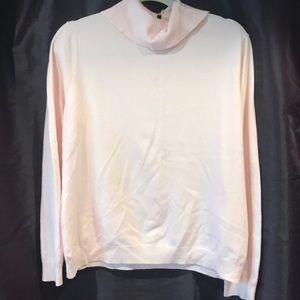Pale pink wool sweater